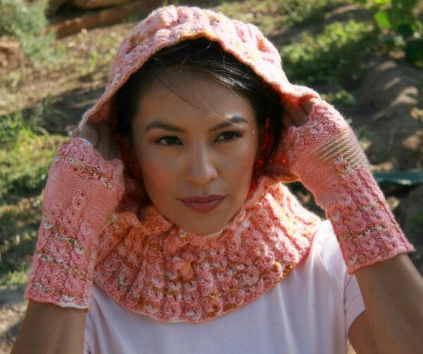 Flopsy Mopsy Hood Knitting Pattern 4