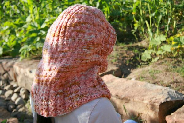Flopsy Mopsy Hood Knitting Pattern 5