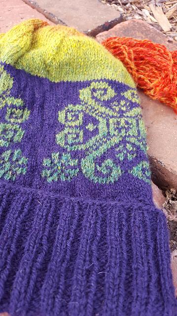 Lithuanian Snowflake Knitting Pattern 2