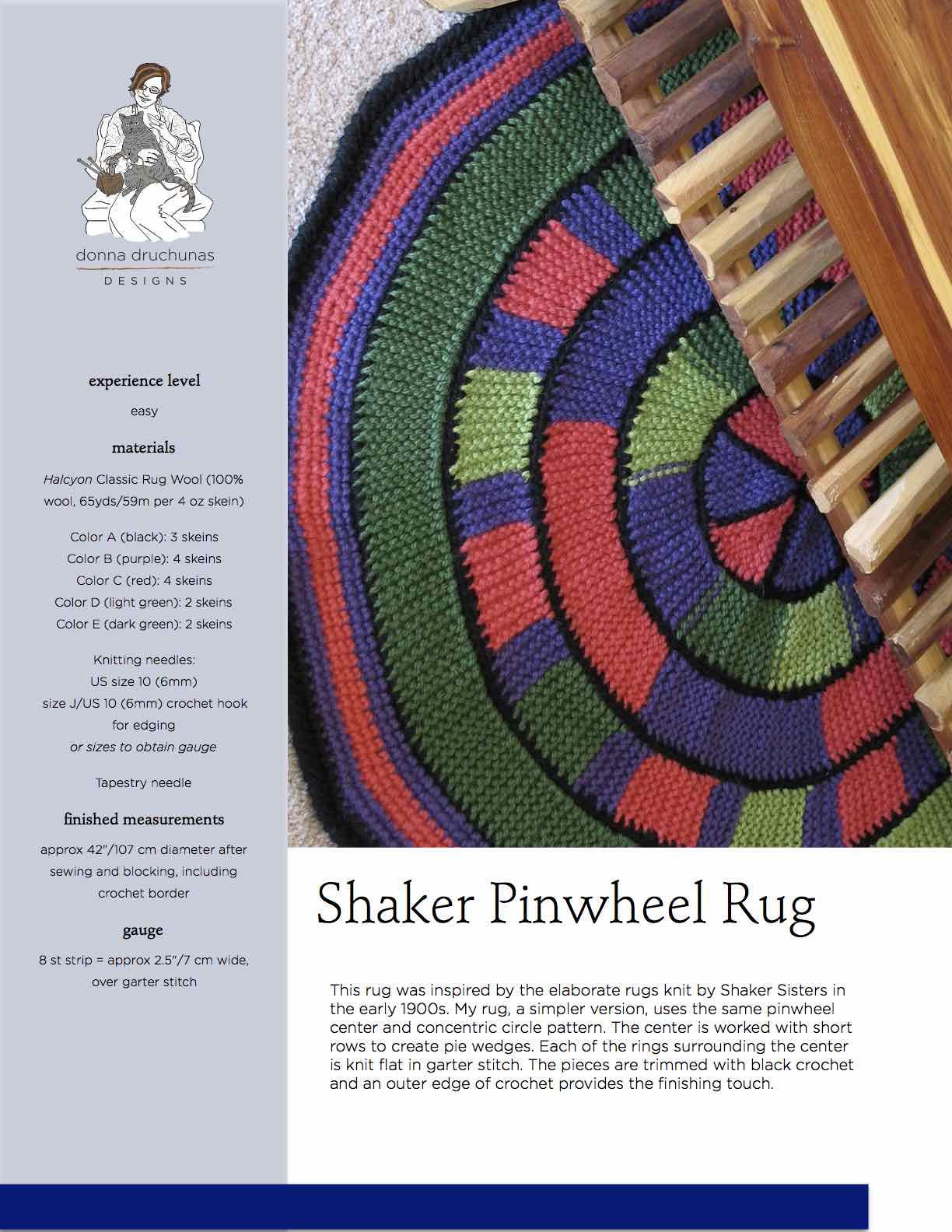 Attractive Pinwheel Knitting Pattern Composition - Sewing Pattern ...