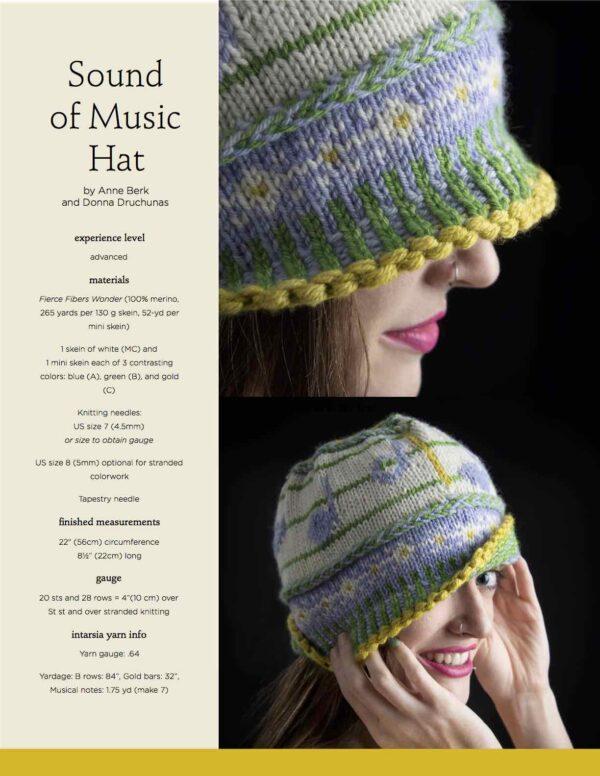 Sound of Music Hat Knitting Pattern 1