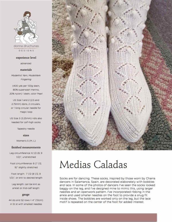 Medias Caladas Knitting Pattern 1
