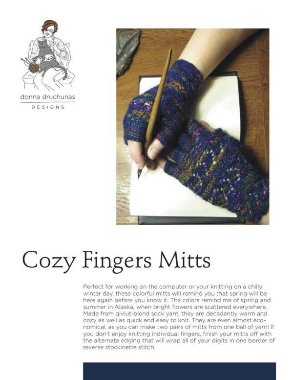 Cozy Fingers Knitting Pattern 1