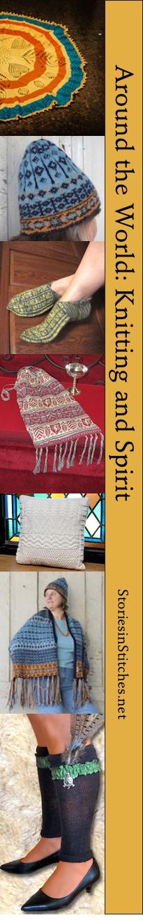 Stories in Stitches Book 4:  Knitting & Spirit 9