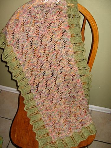 Spring's First Blush Knitting Pattern 3