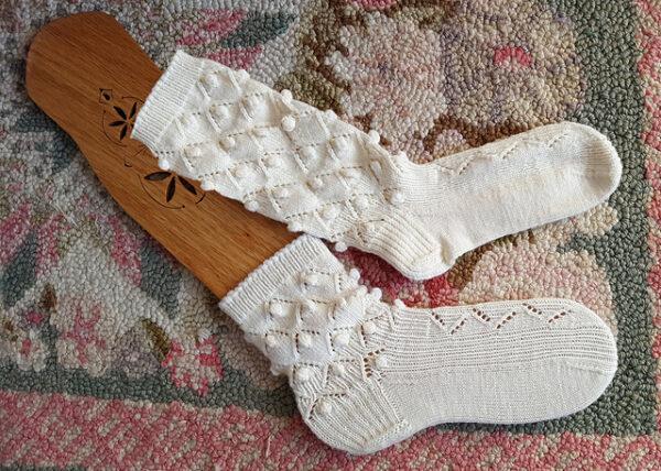 Medias Caladas Knitting Pattern 2