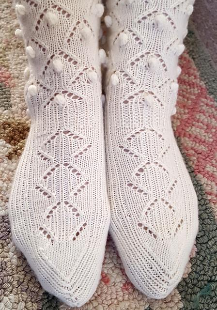 Medias Caladas Knitting Pattern 5