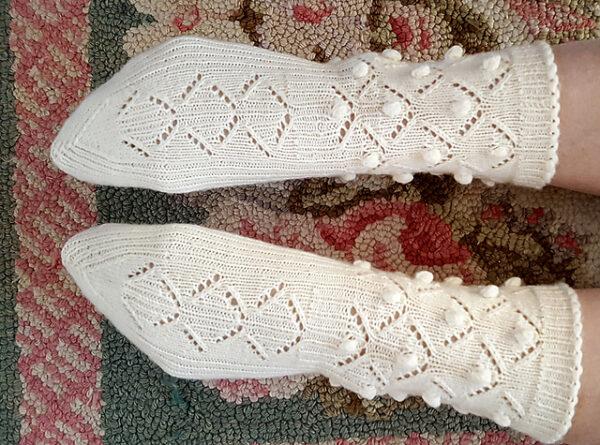 Medias Caladas Knitting Pattern 6