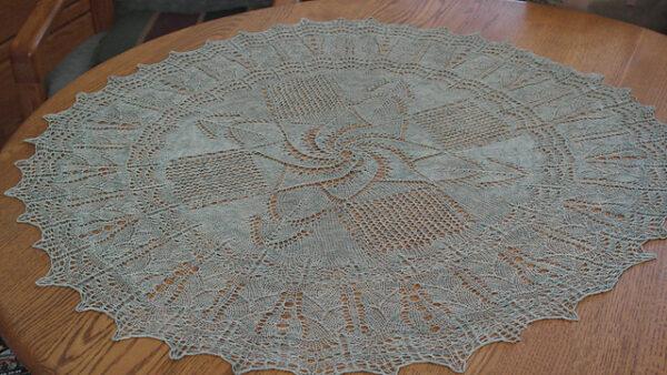 Frost On My Window Knitting Pattern 2
