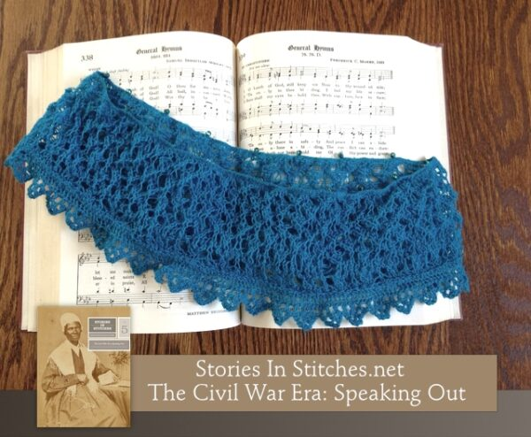 Stories in Stitches Book 5: The Civil War Era - Speaking Out 9