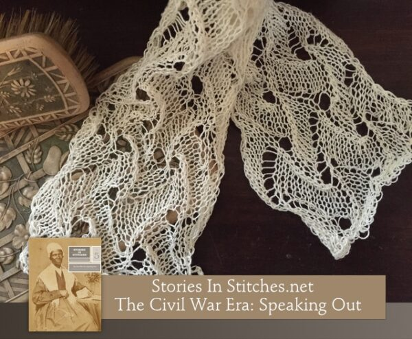 Stories in Stitches Book 5: The Civil War Era - Speaking Out 8