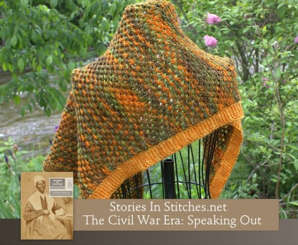 Stories in Stitches Book 5: The Civil War Era - Speaking Out 7