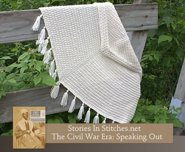 Stories in Stitches Book 5: The Civil War Era - Speaking Out 6