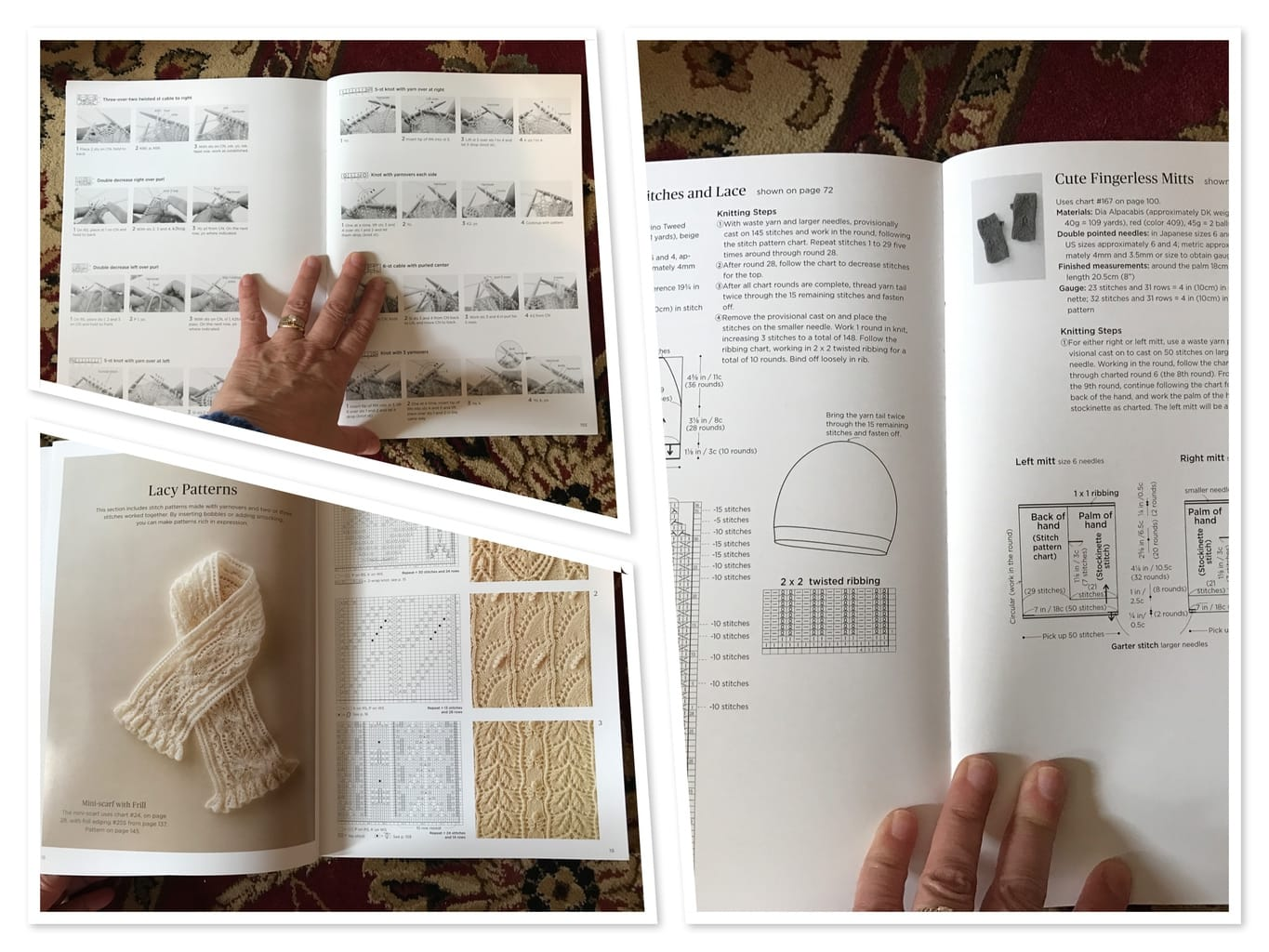 Book Review Japanese Knitting Stitch Bible Sheep To Shawl Llc