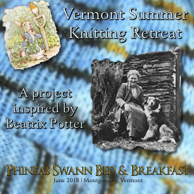 Vermont Summer Knitting Retreat 2019