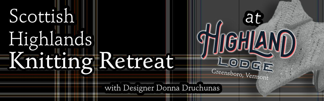 2019 Scottish Highland Knitting Retreat - Highland Lodge 1