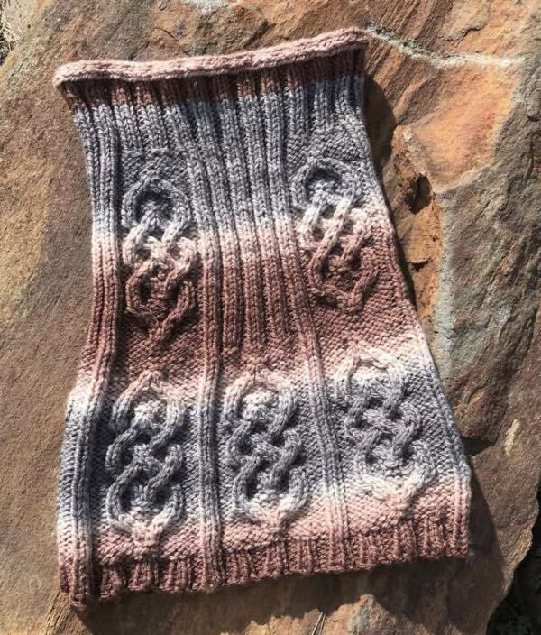 Parts Unknown Knitted Hood Cowl Pattern 8