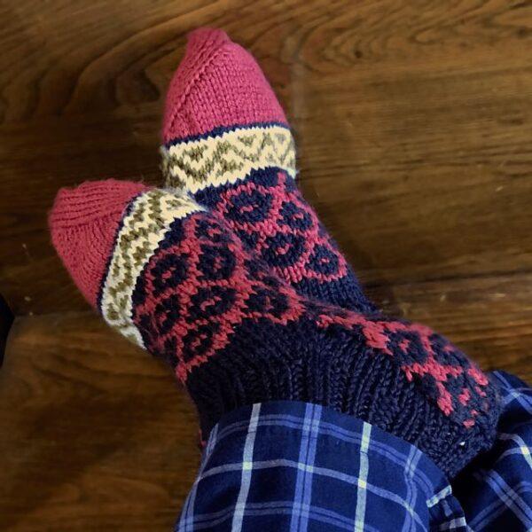 Albanian Anklet Socks Pattern 2