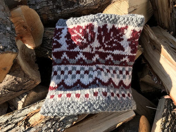 Crossing Into Canada Hood/Cowl Pattern 2