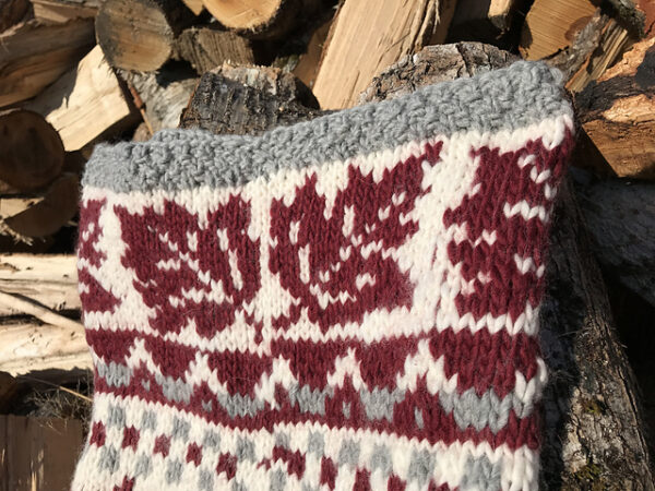 Crossing Into Canada Hood/Cowl Pattern 3