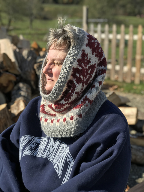 Crossing Into Canada Hood/Cowl Pattern 5