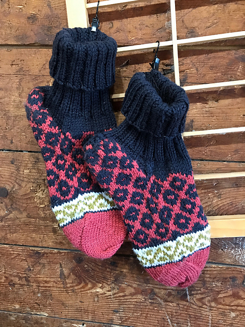 Albanian Anklet Socks Pattern 3