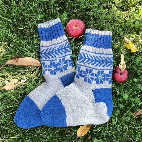 Lithuanian Colorwork Socks Pattern 4