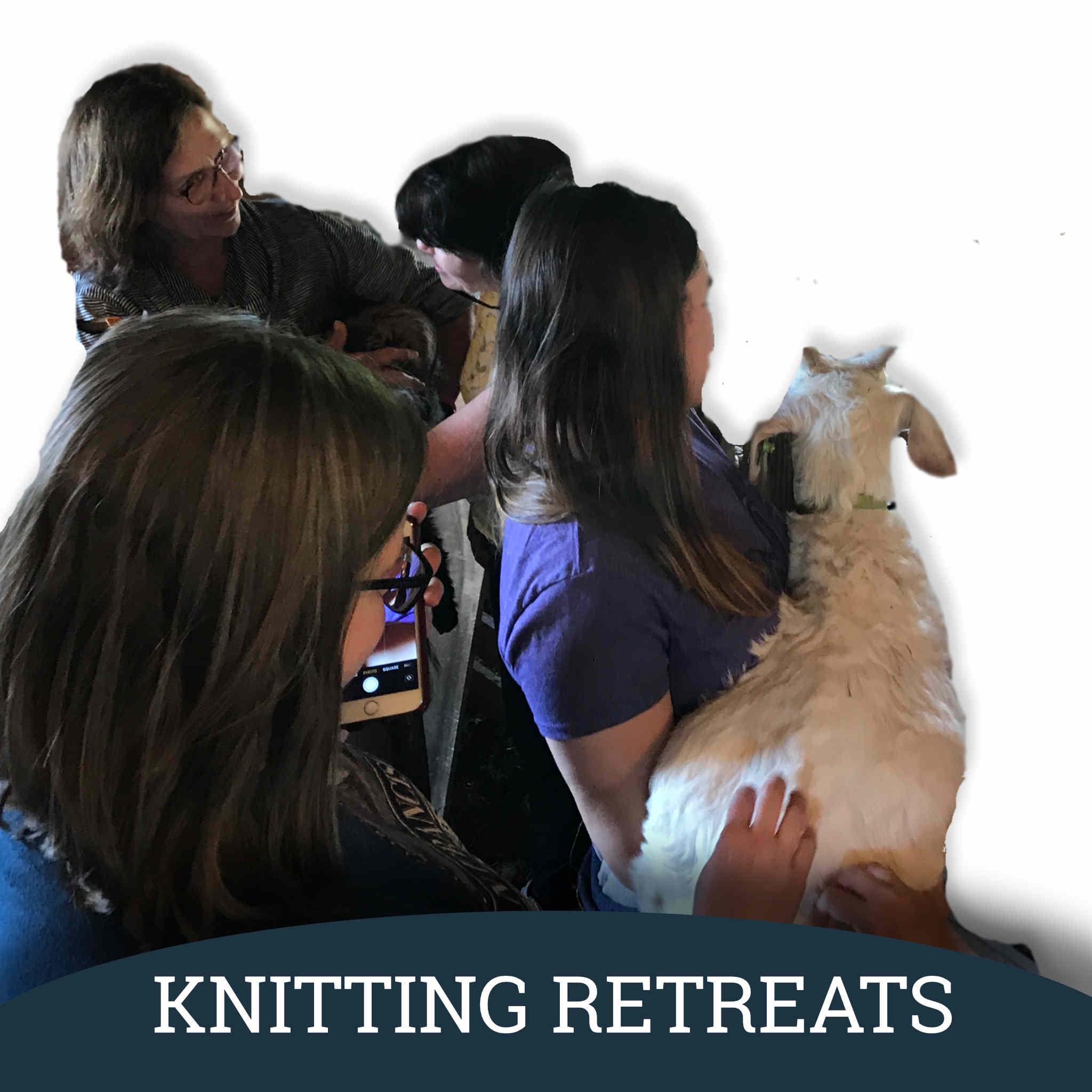Vermont Knitting Retreats