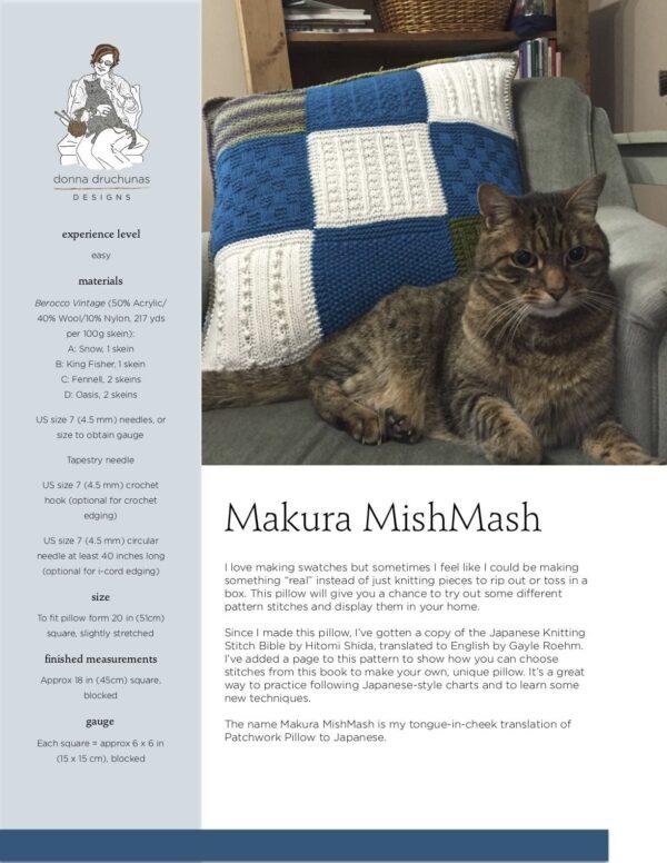 Makura MishMash Pillow Pattern 1