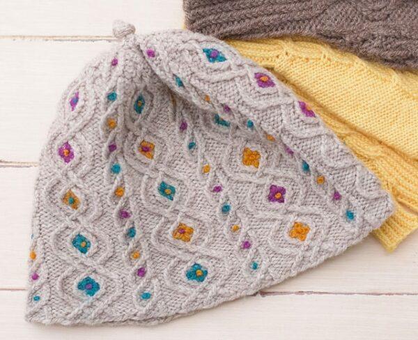 Bavarian Flower Garden Hat Pattern 2