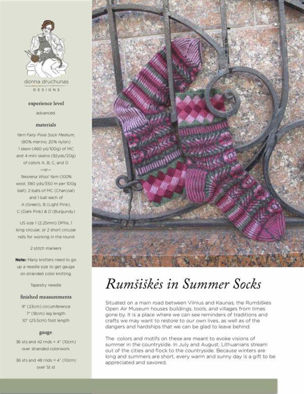 Rumšiškės in Summer Socks 1