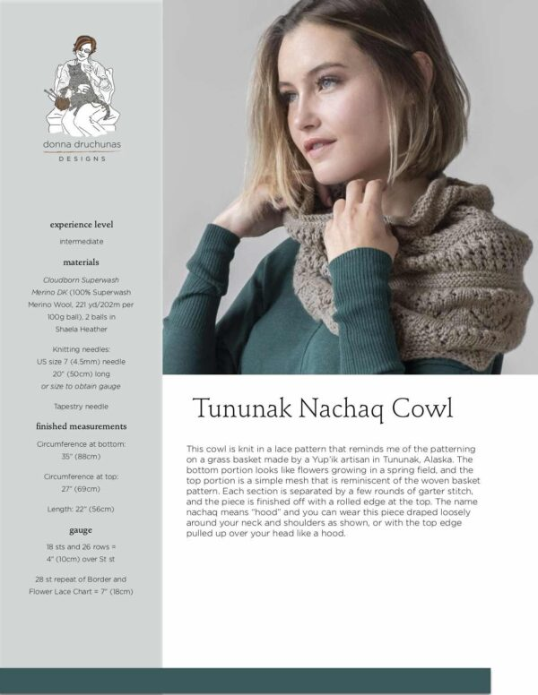 Tununak Nachaq Cowl Pattern 1