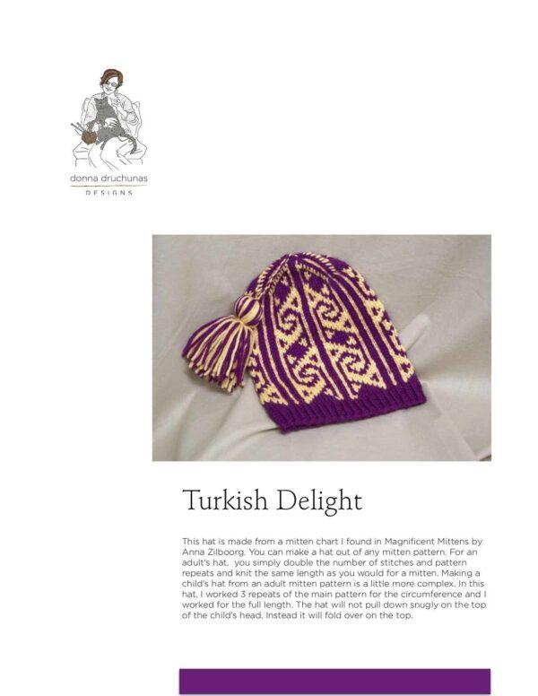 Turkish Delight Hat Pattern 1