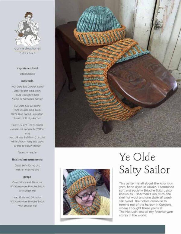 Ye Olde Salty Sailor Set Pattern (2 Patterns) 1