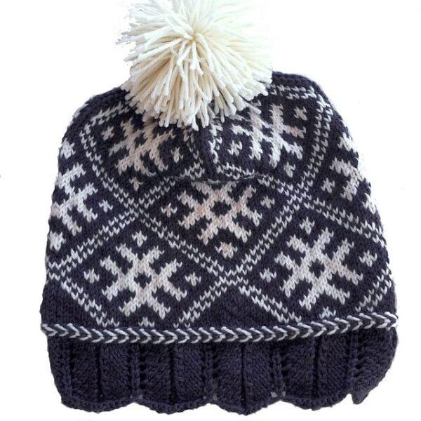Winter Sun Hat Pattern 2