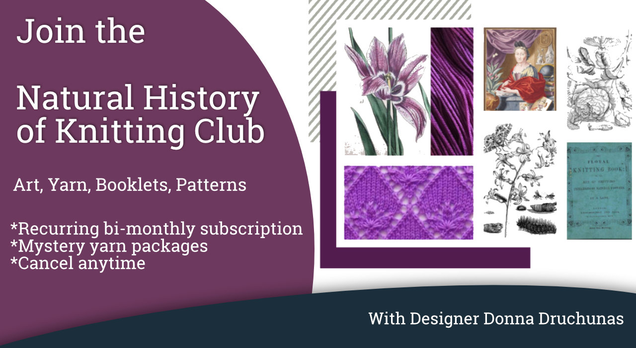 Natural History of Knitting | Subscription Adventure 1