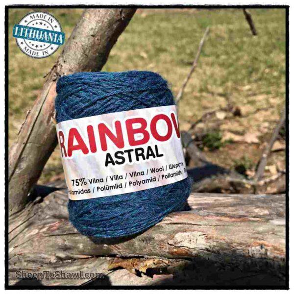 Rainbow Astral Yarn - Navy Blue - R17 1
