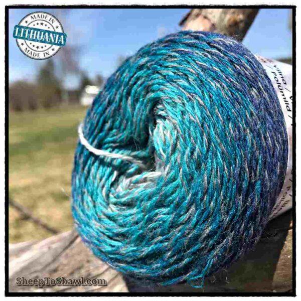 Rainbow Astral Yarn - Navy Blue - R17 2