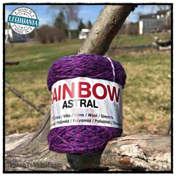 Rainbow Astral Yarn - Purple Blue - R20 1