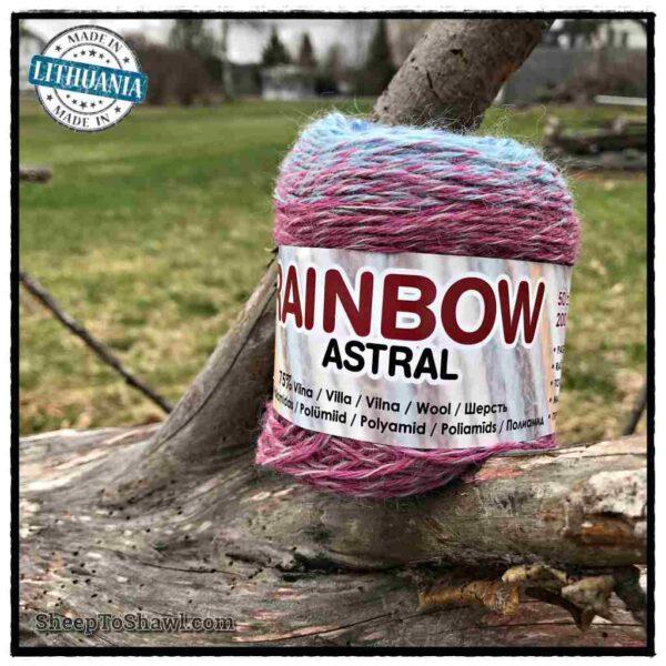 Rainbow Astral Yarn- Blue Purple - R2 1