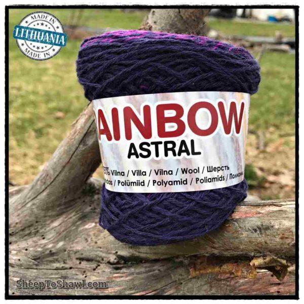 Rainbow Astral Yarn - Light|Dark Purple - R5 1