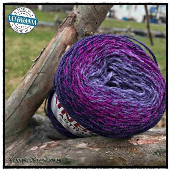 Rainbow Astral Yarn - Purple Blue - R20 2