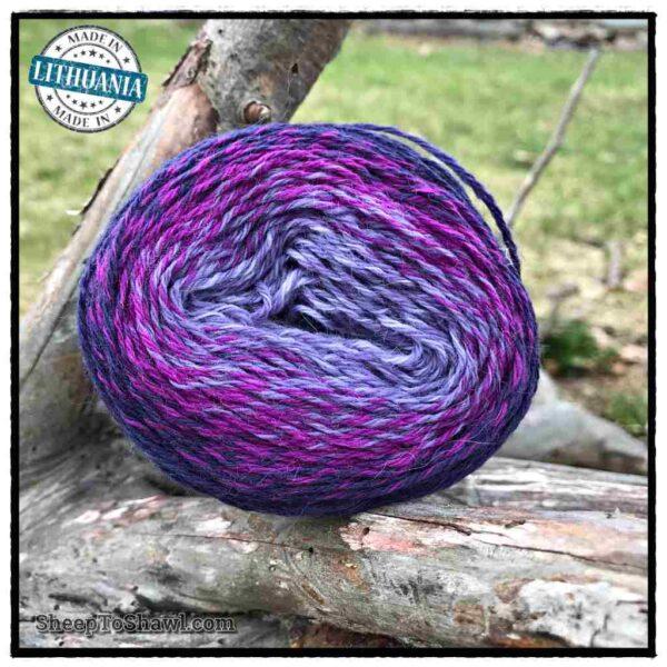 Rainbow Astral Yarn - Purple Blue - R20 3