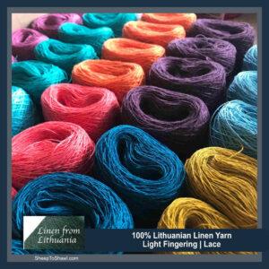 Linen Yarn (Lace/Thread)