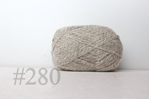 Teksrena Lithuanian Wool - Twisted Natural 1