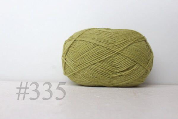 Teksrena Lithuanian Wool - Light Lime 1