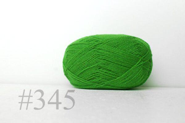 Teksrena Lithuanian Wool - Bright Green 1