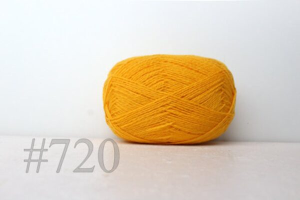 Teksrena Lithuanian Wool - Sunny Yellow 1