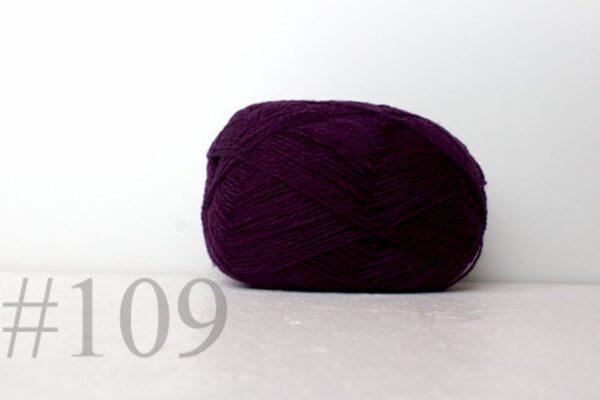 Teksrena Lithuanian Wool - Plum 1