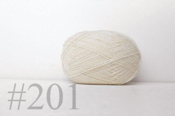 Teksrena Lithuanian Wool - Natural White 1